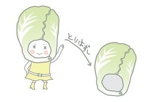 白菜(はくさい) キャラクター