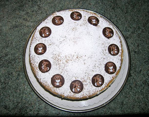 Quark-Sahne-Torte, Ostern