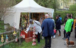 Keramik Fleury auf dem Töpfermarkt in Urbach