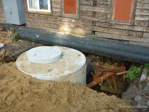 Ремонт внутридомовых инженерных систем водоотведения в Гатчине на Беляева 32
