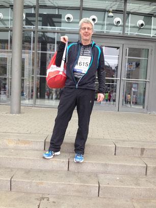 Michael rennt seinen ersten Marathon