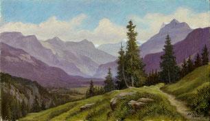 Nr. 1890 Tal bei Innertkirchen