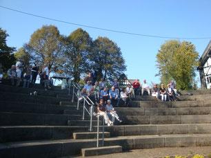 Zwischenstation im Töpferort Mehren