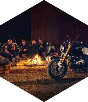 Motorrad Probefahrt mit Grillbuffet