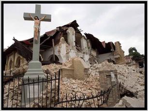 Ingestorte kerk - dood geloof