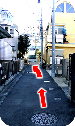 Shinjuku-Kagurazaka-therafit-body-care-road-facing-store-directions-to-the-store