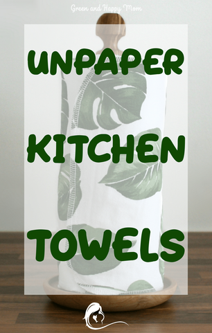 Compared to the well know disposable paper towels, unpaper kitchen towels are a great alternative.