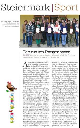 Ponykerstin Ponymaster
