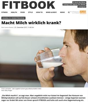 Milchlüge, Milchlobby, Igf-1, Krebs Ernährung
