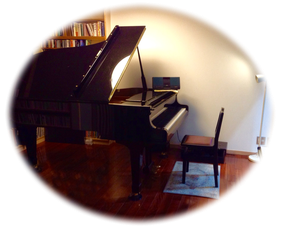 千歳烏山のピアノ教室レッスン室