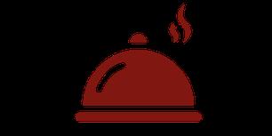 Icon Tellergericht unter Servierglocke