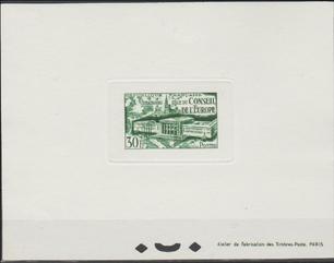 épreuve de luxe timbre France 923