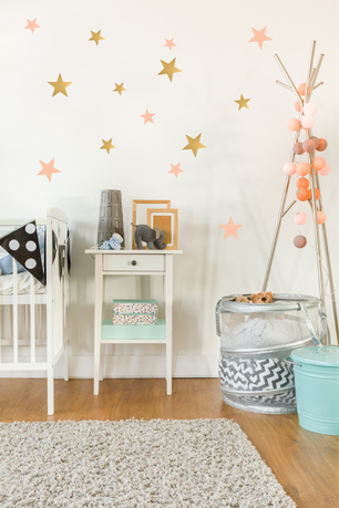 STICKERS ETOILES DECO DESIGN CHAMBRE BEBE- STARS STICKERS KIDS DESIGN