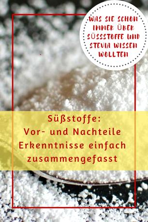 Süßstoffe Vor- und Nachteile #stevia #süßes #süßstoff #lowcarbdeutschland #ernährung