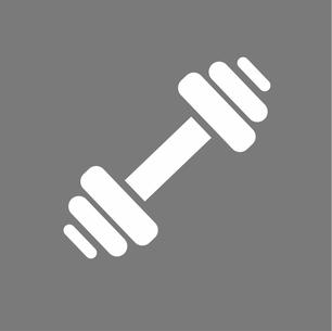 Frauen Fitness Hantel
