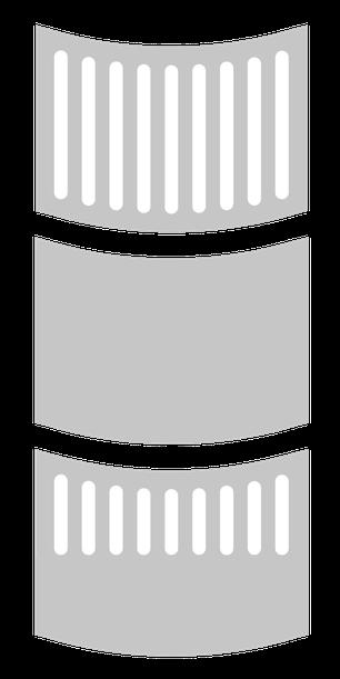 KINDGERECHT-Gitterflächen für das Design Gitterbett