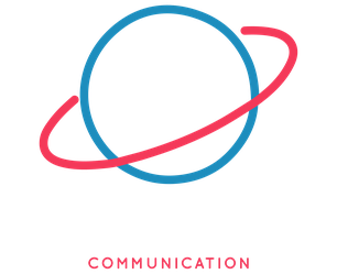 Logo imprimerie orbitale pour le service communication