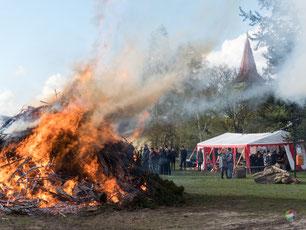 Bald brennt es wieder - das Zühlsdorfer Osterfeuer