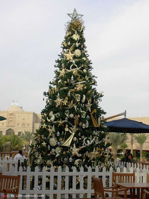 Christbaum in Dubai