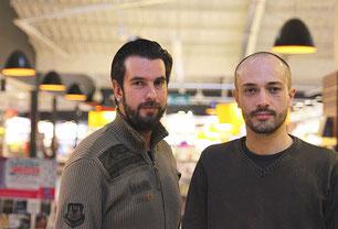 Jean-Christophe et Pierre du groupe Merzhin
