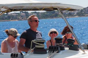 Yachtcharter mit Skipper Balearen Mallorca mit Katamaran Lagoon