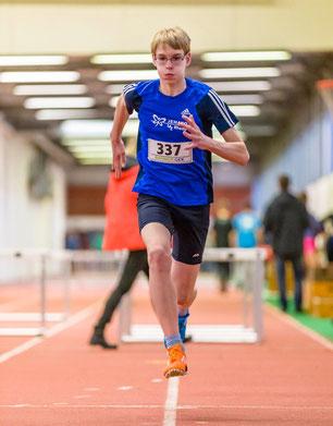 Jan Siebert blieb mit 1,50 Metern im Hochsprung unter seinen Möglichkeiten.