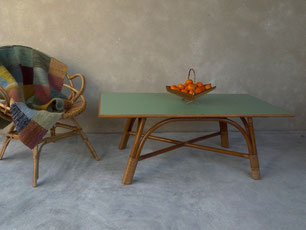 Tables joli trouvaillesvintage for Table etroite a rallonge