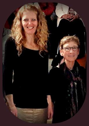 Monika Lößl und Carmen Däumer