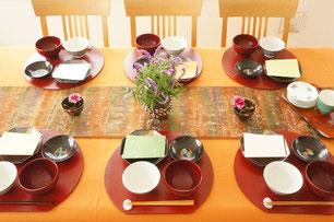 和食のテーブルコーディネイト