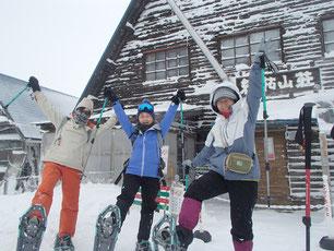 北八ヶ岳 スノーシュー 体験