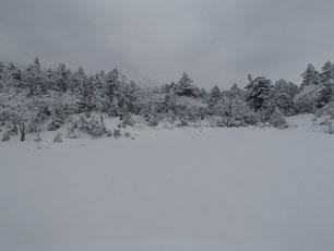 北横岳 登山 スノーシュー ガイド