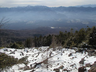 西岳 雪山 ガイド