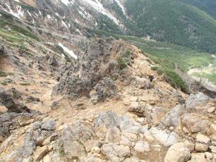 地蔵尾根 登山 ガイド