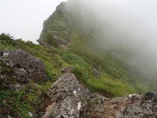 阿弥陀岳 中央稜 登山 ガイド