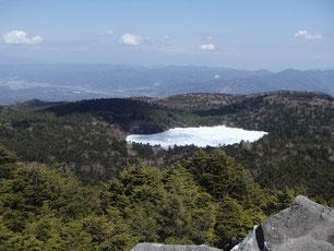 高見石 雪山 ガイド