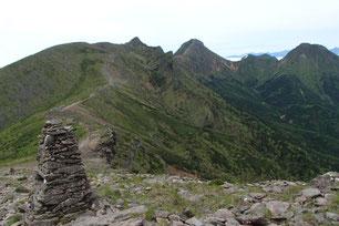 八ヶ岳 縦走路 ガイド