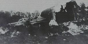 Le crash d'un Stirling à Grangues le 6 juin 1944