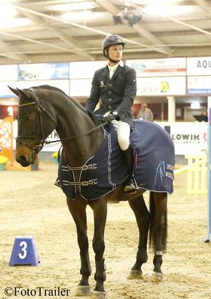 Sjaak Sleiderink, hier met een ander paard