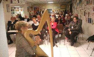 Christiane à la Harpe