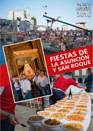 Fiestas en Castro-Urdiales Fiestas de la Asunción y San Roque