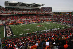 "Stadion der Oregon State University ""Beavers"" - Football Spiel"