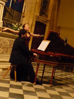 Concert à l'église des Oblats, Aix en Provence, le 20 Novembre 2010. (Photo : Laurence Recchia)