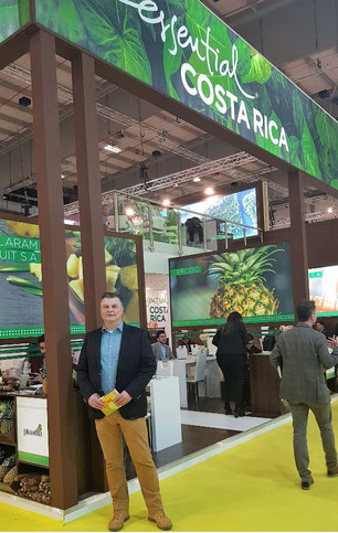 Exhibitors from all over the world ran stands at Fruit Logistica