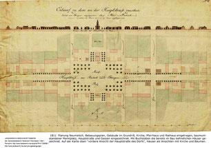 Neumalsch Bebauungsplan 1811