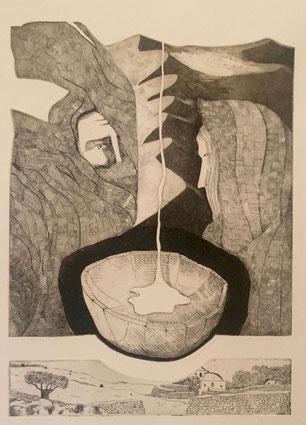Gianni Vernì, L'argilla all'argilla