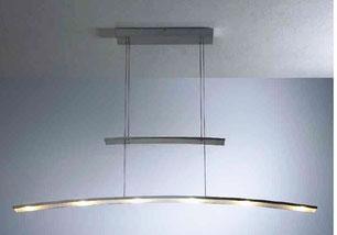 Hängelampe Modell LED's Go geschwungen