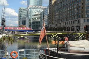 Alt und Neu in den Docklands