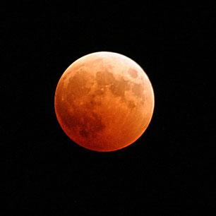 Eine besondere Mondfinsternis
