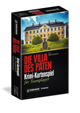 Rezension zum Kriminalspiel Die Villa des Paten