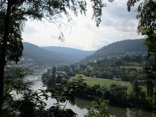 Neckarsteig Eberbach